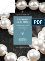 [Palgrave Advances in Luxury] Cesare Amatulli, Matteo de Angelis, Michele Costabile, Gianluigi Guido Sustainable Luxury Brands_ Evidence From Research and Implications for Man