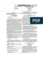 LEY N° 28101 REGLAMENTO MOV NAC --- DS N° 005-2006-DE-SG (FEB 2006)