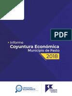 Informe de Coyuntura económica de Nariño 2018