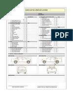 Check List de Vehículo Liviano ECS  +D