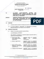 Treasury Circular on Reactivation2010