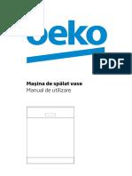 Manual Utilizare Beko DFN05211W