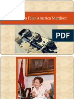 Homenaje a Pilar América Martínez