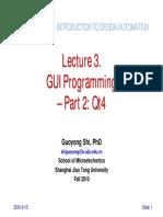 Lect03 GUI Programming2 Qt