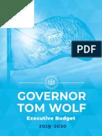Gov. Tom Wolf's 2019-20 Budget