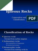 Igneous Rocks Composition