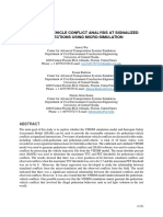Pedestrian-Vehicle Conflict Analysis at Signalized Usin Microsimulation