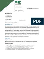 Informe Laboratorio Ensayo de Dureza