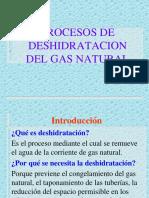 Tema4-Procesos de Deshidratacion Del Gas Natural