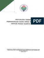 PETUNJUK TEKNIS PENGGUNAAN DANA DESA TAHUN 2018 UNTUK PADAT KARYA TUNAI - berdes.pdf