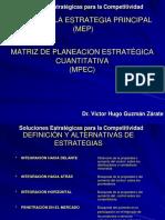 Matriz MPEC