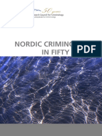 Nordic Criminology in Fifty Years