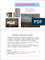 Corrosión y Protección de Metales
