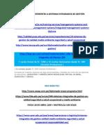 Diplomados Referentes a Sistemas Integrados de Gestión