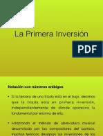 Primera inversion