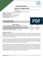 Ficha Recomendacao 25001019004P6