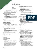 Solucións. Fichas de reforzo Lingua Galega 4 primaria