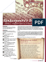 Worksheets Shakespeare Uppersecondary