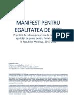 ManifestEgalitateaGen Final