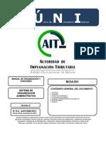 2. Manual de Organizacion y Funciones MOF