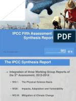 IPCC Fifth Assessment Report