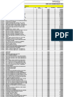 Tabela de Remuneração