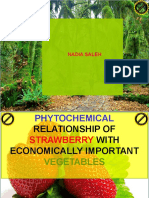 Phytochemical Relationship of Strawberry (Fragaria L)