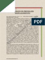 Prenda Automotor Modelo Documento Privado