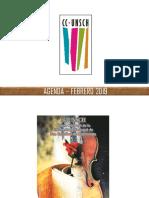 Agenda Cultural – Febrero 2019