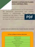 Instrumentos de evaluación PMC