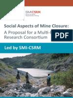 Aspectos sociales en cierre de minas