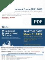 RIF 2019 Agenda