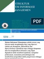 Struktur Sistem Informasi Manajemen - Matkul SIMKom