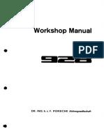 WM Porsche 928 Factory Manual - Vol 3