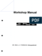 WM Porsche 928 Factory Manual - Vol 6