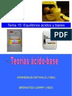 Cap 15_Equilibrios Ácido-Base