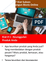 eBook - 7 Kiat Sukses Jualan Online