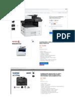 Modelos de Impresora