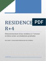Rapport d'étude - Résidence R+4.pdf