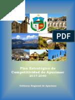 Plan de Competitividad Apurimac 2017 2040