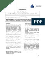 Tema Interregional AnalisisTejidoUrbano 2018