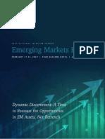 EMF 19 Preliminary Program as of 01 14