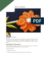 Paté de Zanahoria y Pistacho