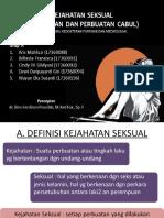 Fix Kejahatan Seksual