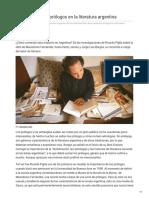 León - Los prólogos en la literatura argentina