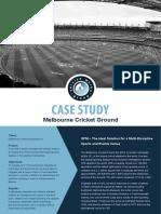 Case Study Melbourne Cricket Ground UK and Europe