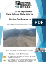 CME Proyecto de Explotación Roca Caliza a Cielo Abierto 2018.ppsx