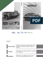 Manual proprietário Toyota Corolla 2010/2011