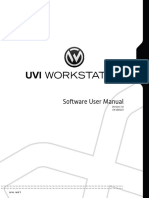 Uvi workstation manual