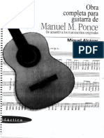 Ponce Manuel M -Obra Completa Para Guitarra (1)